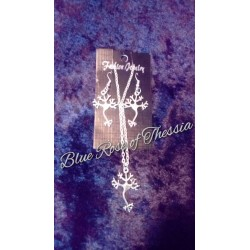 Neuron Cell Earring & Pendant Set
